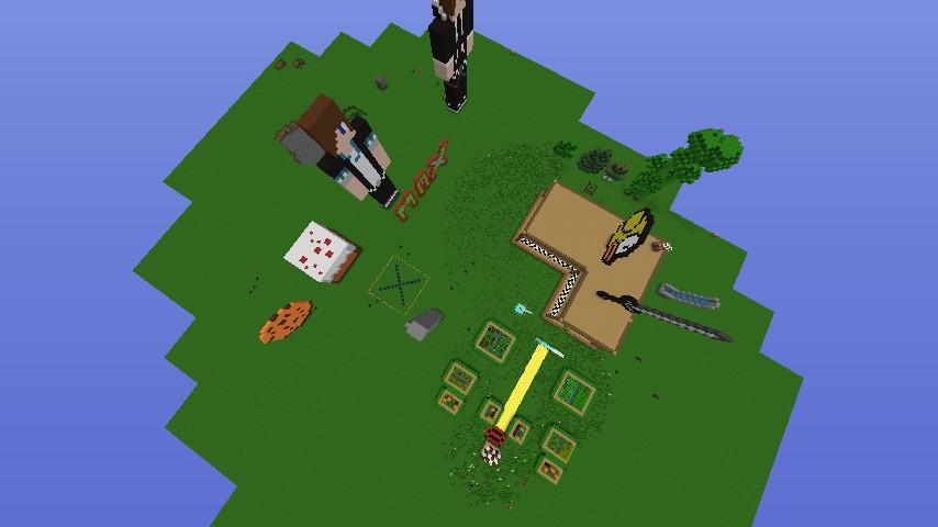 Mansionpixel Art Minecraft Project