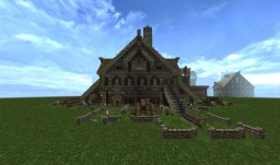 Medieval Lumber Mill Minecraft Project