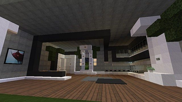 Modern Kitchen Interior Minecraft Project