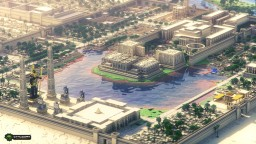 Tertiary Dreams In The Nile , Millennium's Prosperity Will         Go On——The Ancient Egyptian City  Minecraft