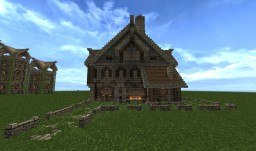 Medieval Blacksmith Minecraft Map & Project