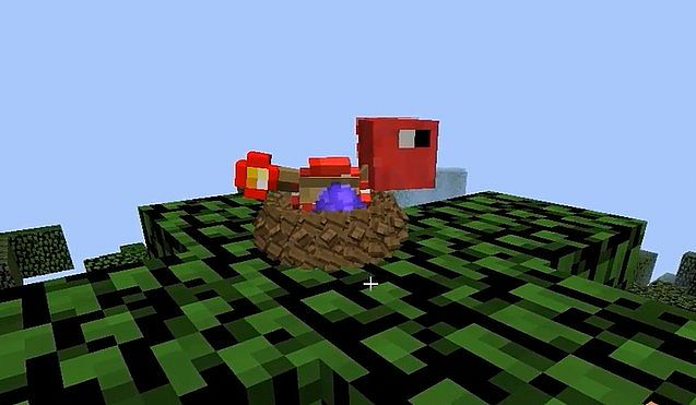 How To Build A Birds Cage In Minecraft