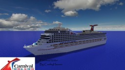 Carnival Valor 1:1 Scale Cruise Ship [+Download] Minecraft Map & Project