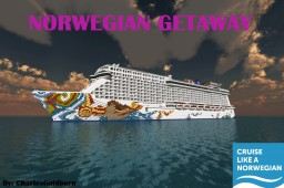 Norwegian Getaway 1:1 Scale Cruise Ship [+Download] [Full-Interior] Minecraft