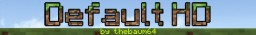 Default HD v2.0 BETA Minecraft