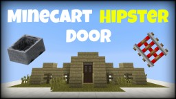 Minecart Hipster Door Minecraft Map & Project