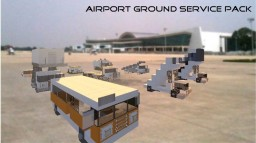 Airport Ground Service Pack Minecraft Map & Project