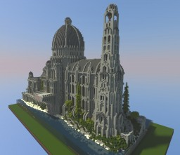 Dome of Stars - Gondorian Palace Minecraft Map & Project