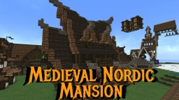 Medieval Nordic Mansion Minecraft Map & Project