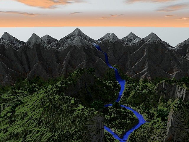MOUNTAINS, rendered by the majestic Freshmilkymilk