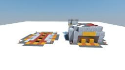 StarCraft 2  Supply Depot Terran Minecraft Map & Project