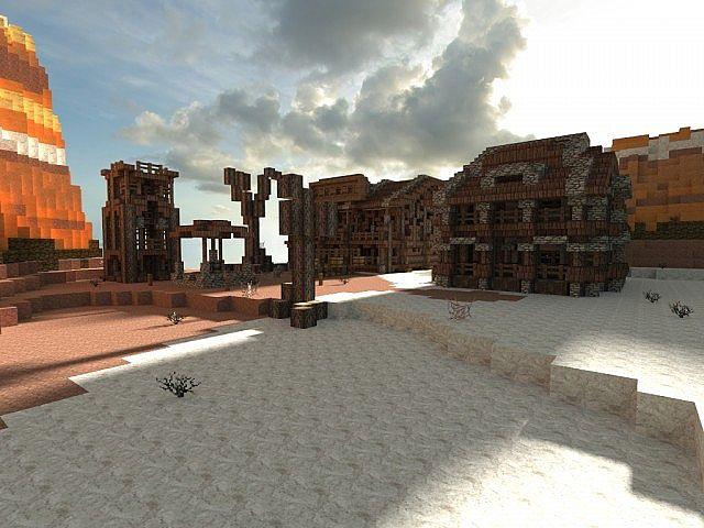 Little Wild West Town Minecraft Project