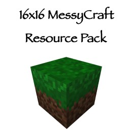16x16 MessyCraft Resource Pack