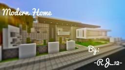 """Urban"" -A Modern Home Minecraft Map & Project"