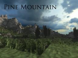 Pine Mountain - Beautiful Custom Biome/Terrain Minecraft Project