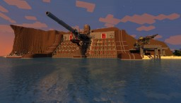 Port Junon - Final Fantasy VII Minecraft