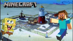 Mrs. Puff's Boating School from Spongebob Minecraft Map & Project
