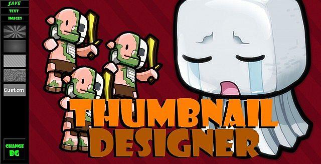 Editing a Thumbnail in Thumbnail Designer