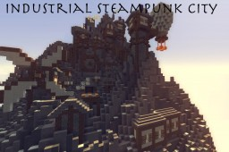 Steampunk City (WIP) [Contest Entry] (Pop Reel) Minecraft Map & Project