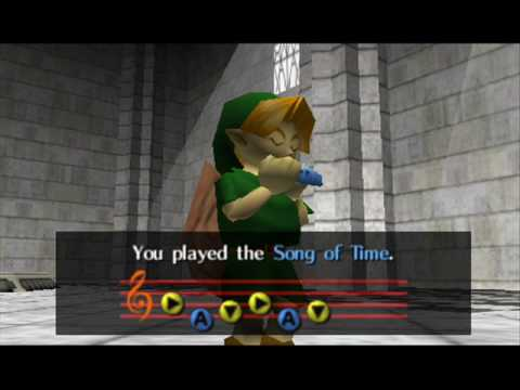 Loz Ocarina Of Time Song Of Time Minecraft Project