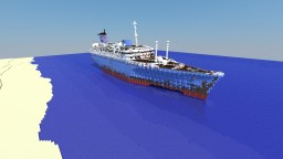 S.S. American Star Wreck Minecraft Map & Project