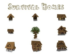 Survival Homes Pack [World Save Included]