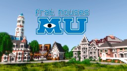 MU frat houses Minecraft Map & Project