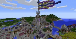 Victoriana (Region and Townships Finished) Minecraft Map & Project