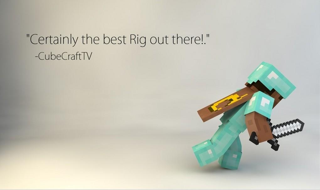 Free] minecraft cinema 4d rigs minecraft blog.