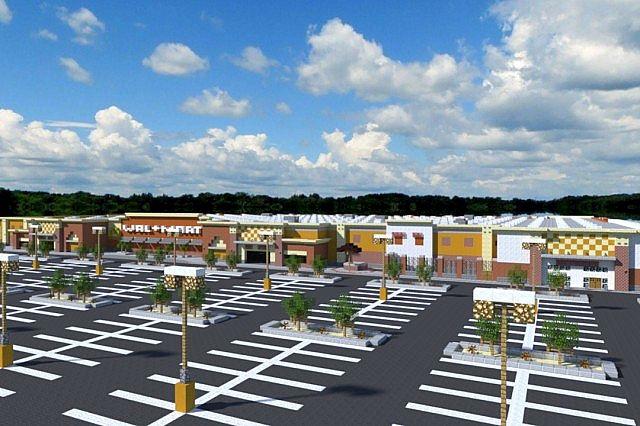 Walmart Supercenter - Western Architecture Minecraft Project