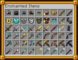 Visual Enchantments 3.0.1 [Optifine] Minecraft Texture Pack