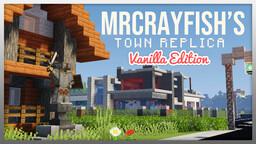 MrCrayfish's Town Replica - (Vanilla Minecraft Edition) Minecraft Map & Project