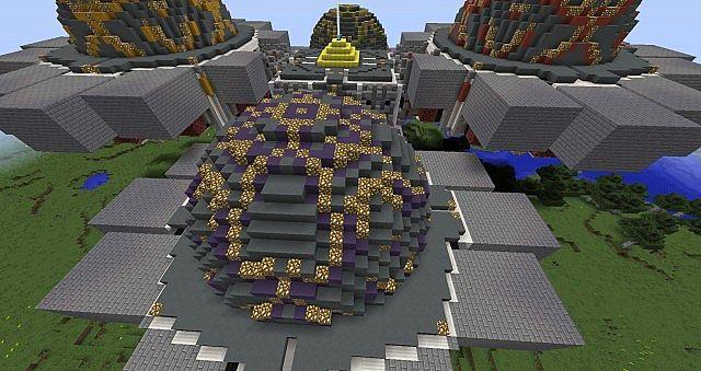 Mindcrack Nether Hub Minecraft Project