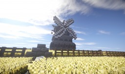 Medieval / Fantasy Windmill Minecraft Map & Project