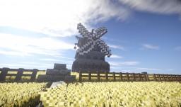 Medieval / Fantasy Windmill Minecraft Project
