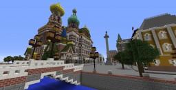 Craftburg - Saint Petersburg in Minecraft Minecraft Map & Project
