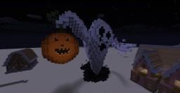 Halloween Build #1: Ghost Minecraft