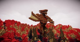 Hell Dragon Minecraft Map & Project