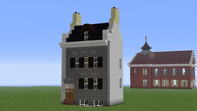 Mackenzie House Toronto Canada Minecraft Project
