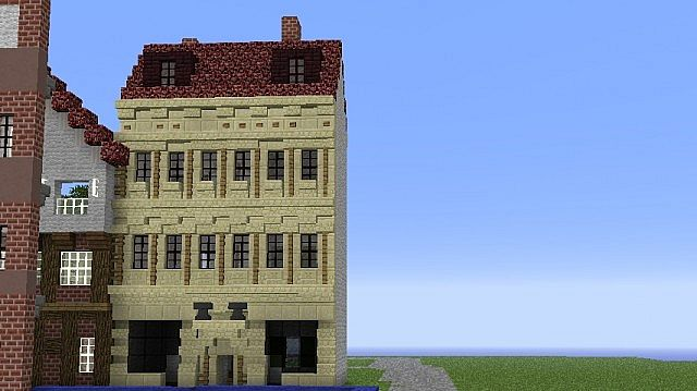 18 Century Style German House Minecraft Map