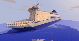 P&O ferry The Pride Of Rotterdam Minecraft