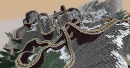 Minecraft Roller Coaster - Explorer Mountain Minecraft Project