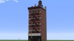19. Century New York City style 5 Storey Tenement house Minecraft Map & Project