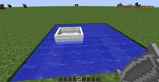 The boat as seen in version 0.4.1