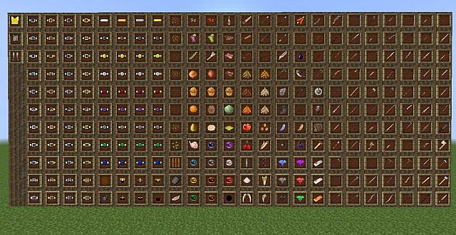 Items, weapons, armour, food and more in 0.4.1