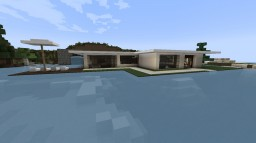 Modern House 13 Minecraft Map & Project