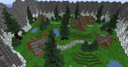 Nordic Village - Mob Arena Minecraft Map & Project