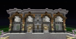 Apple Store | Interior & Exterior Minecraft Project