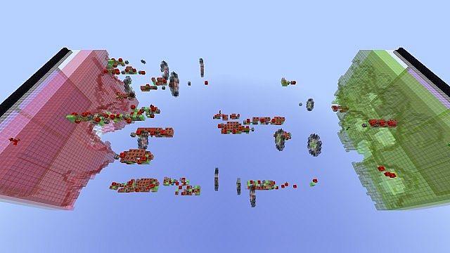 [ℳᎯ℘][1.8.1] Missile Wars Mini Game - интересная карта