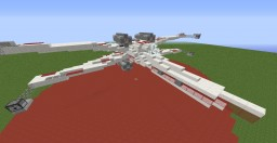 X-Wing Fighter [Star Wars] Minecraft Project